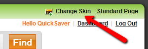 change skin backgrpund option